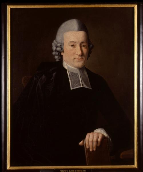 Porträt Johann Jakob Griesbach