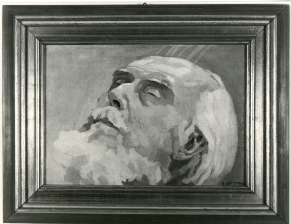 Porträt Ernst Haeckel (Totenbild)