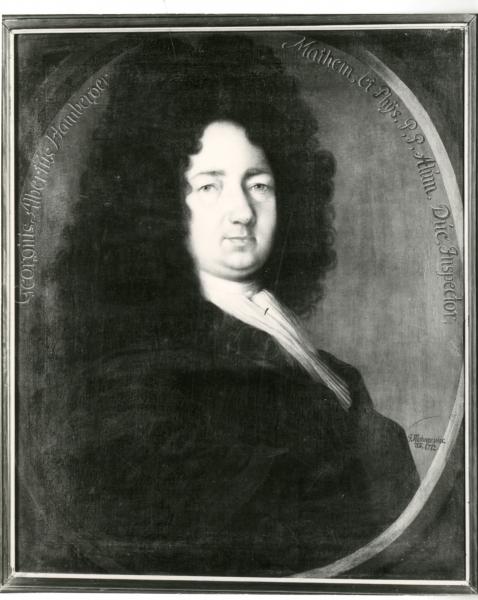 Porträt Georg Albrecht Hamberger