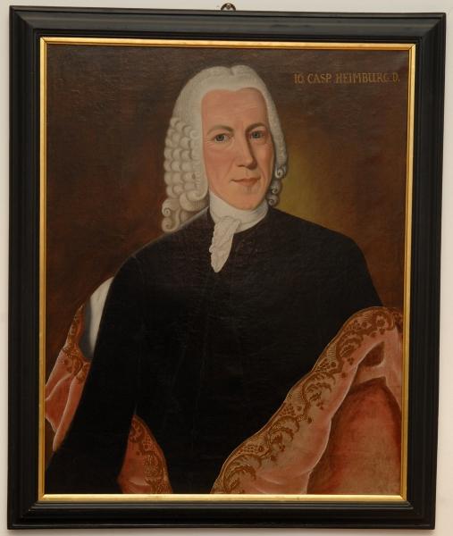 Porträt Johann Kaspar Heimburg