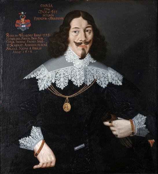 Porträt Rudolph Wilhelm Krause