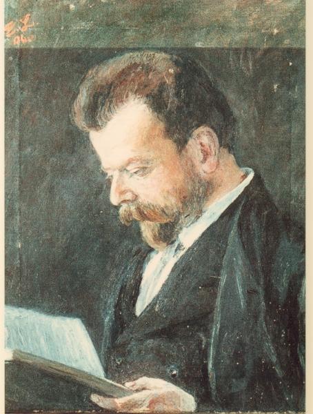 Porträt Albert Leitzmann