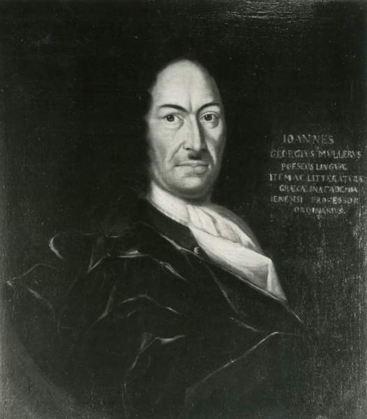 Porträt Johann Georg Müller