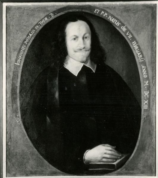 Porträt Johannes Musäus