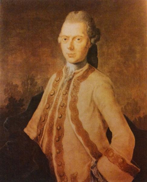 Porträt Johann Ernst Neubauer