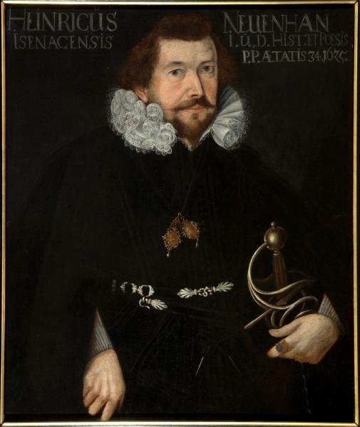 Porträt Heinrich Neuenhahn