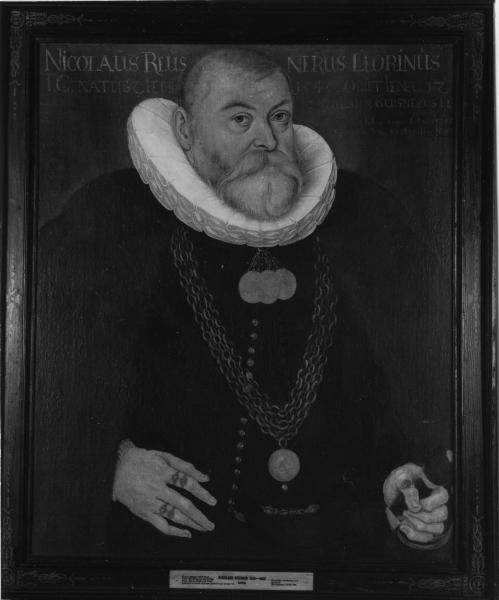 Porträt Nicolaus Reusner