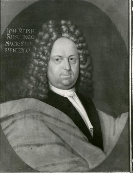 Porträt Johann Reinhard Rus