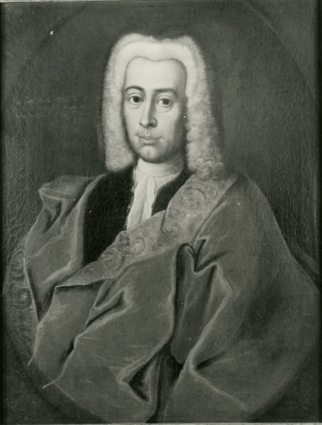 Porträt Johann Gottfried Schaumburg