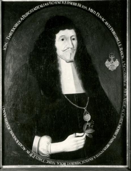 Porträt Johann Theodor Schenck