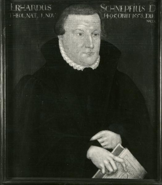 Porträt Erhard Schnepf