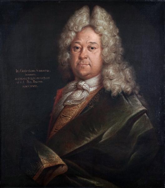 Porträt Johann Christian Schröter