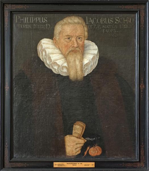 Porträt Philipp Jakob Schröter