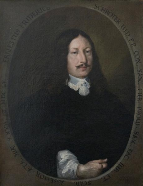 Porträt Ernst Friedrich Schröter