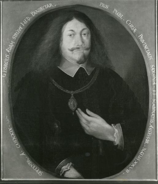 Porträt Georg Adam Struve