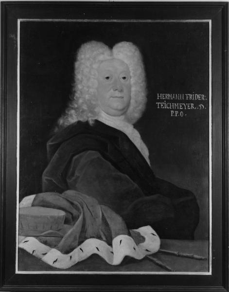 Porträt Hermann Friedrich Teichmeyer