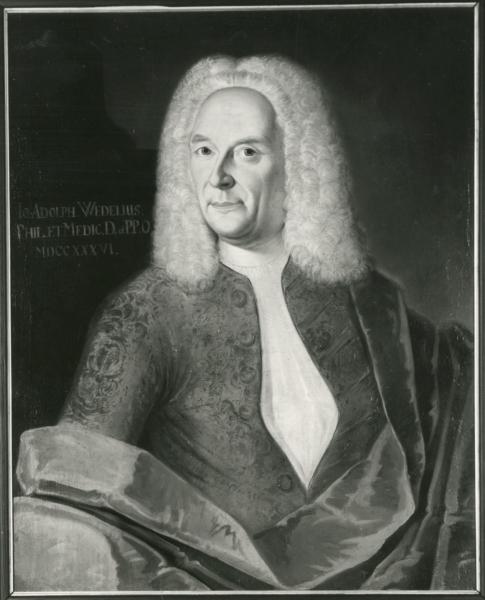 Porträt Johann Adolf Wedel