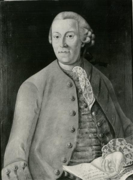 Porträt eines unbekannten Professors