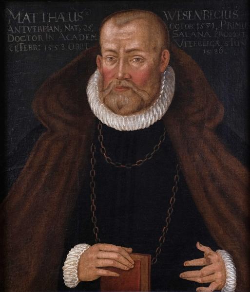 Porträt Matthäus Wesenbeck