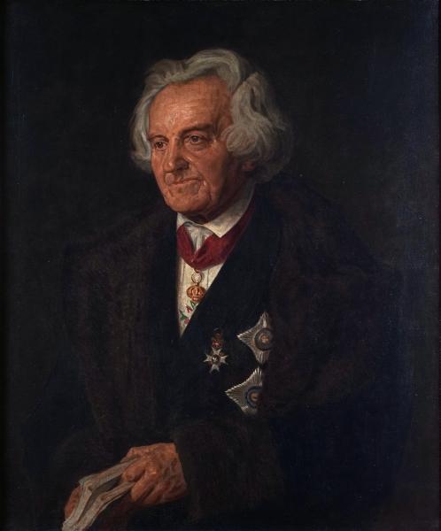 Porträt Karl August von Hase