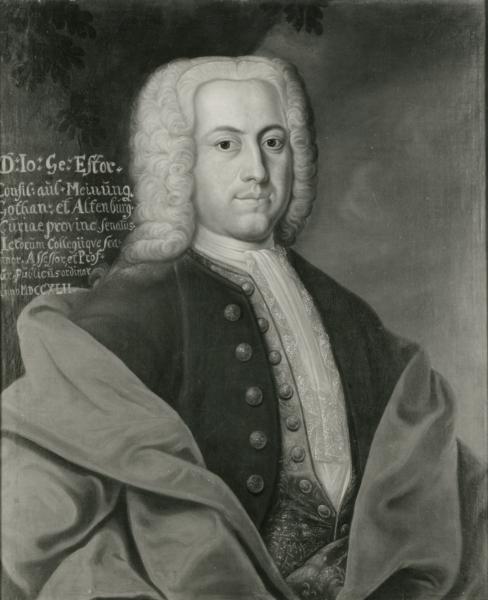 Porträt Johann Georg Estor