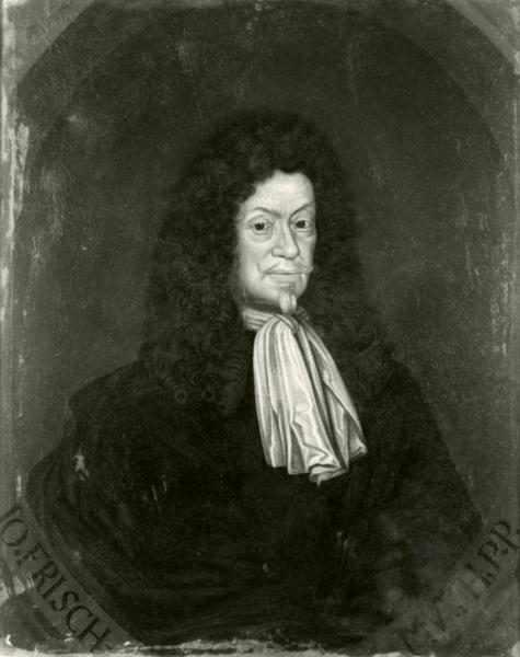 Porträt Johann Frischmuth
