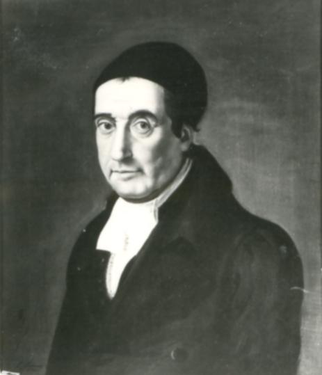 Porträt Johann Philipp Gabler