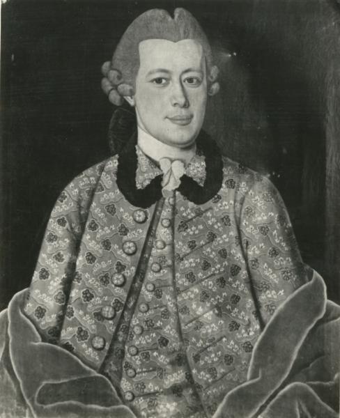 Porträt eines unbekannten Herren