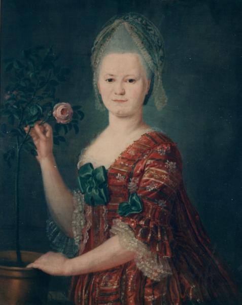 Porträt Friederike Juliane Griesbach, geb. Schütz