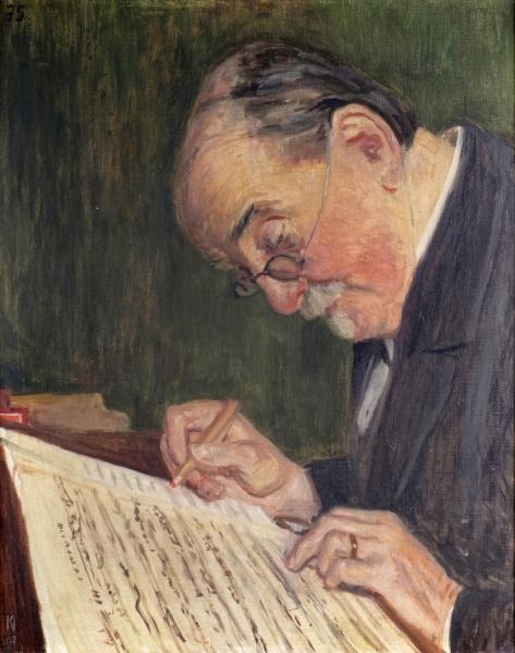 Porträt Ernst Naumann