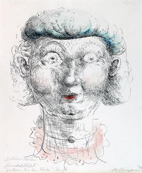 Gullivers Freundin bei den Riesen