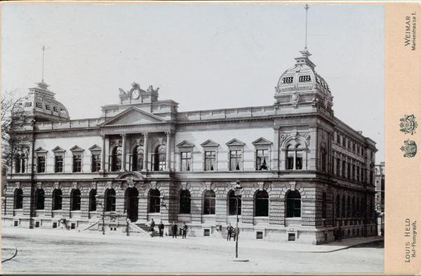 Postamt in Weimar