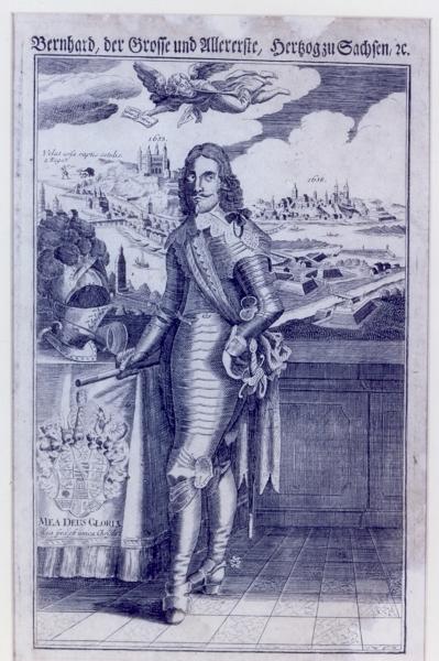 Bernhard, der Große und Allererste, Herzog zu Sachsen