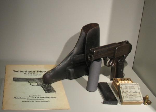 Pistole Modell Dreyse