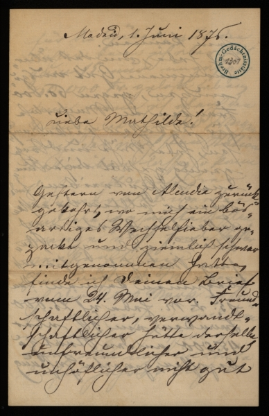 1301 - Brief - Seite 1