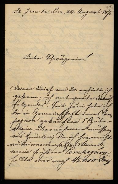 3724 - Brief - Blatt 1 - Seite 1