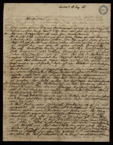 1295 - Brief - Seite 1