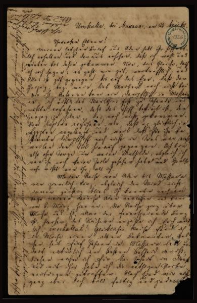1326 - Brief - Seite 1