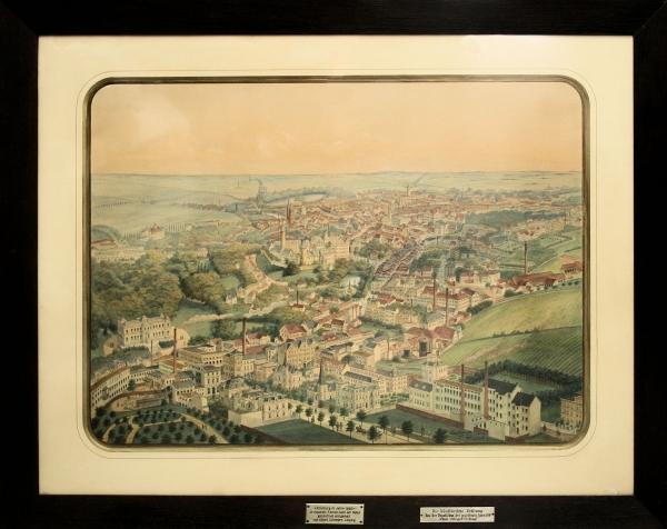 Altenburg im Jahre 1886